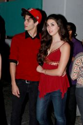 Kira Kosarin Casual Style - Outside the Roxy Theatre in West Hollywood - October 2014