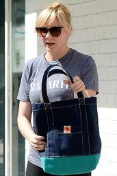 Kirsten Dunst - Leaving the Gym in Studio City - October 2014