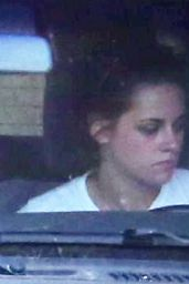 Kristen Stewart - Driving around in Los Angeles, October 2014