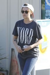 Kristen Stewart in Tight Jeans - Out in Los Angeles, October 2014