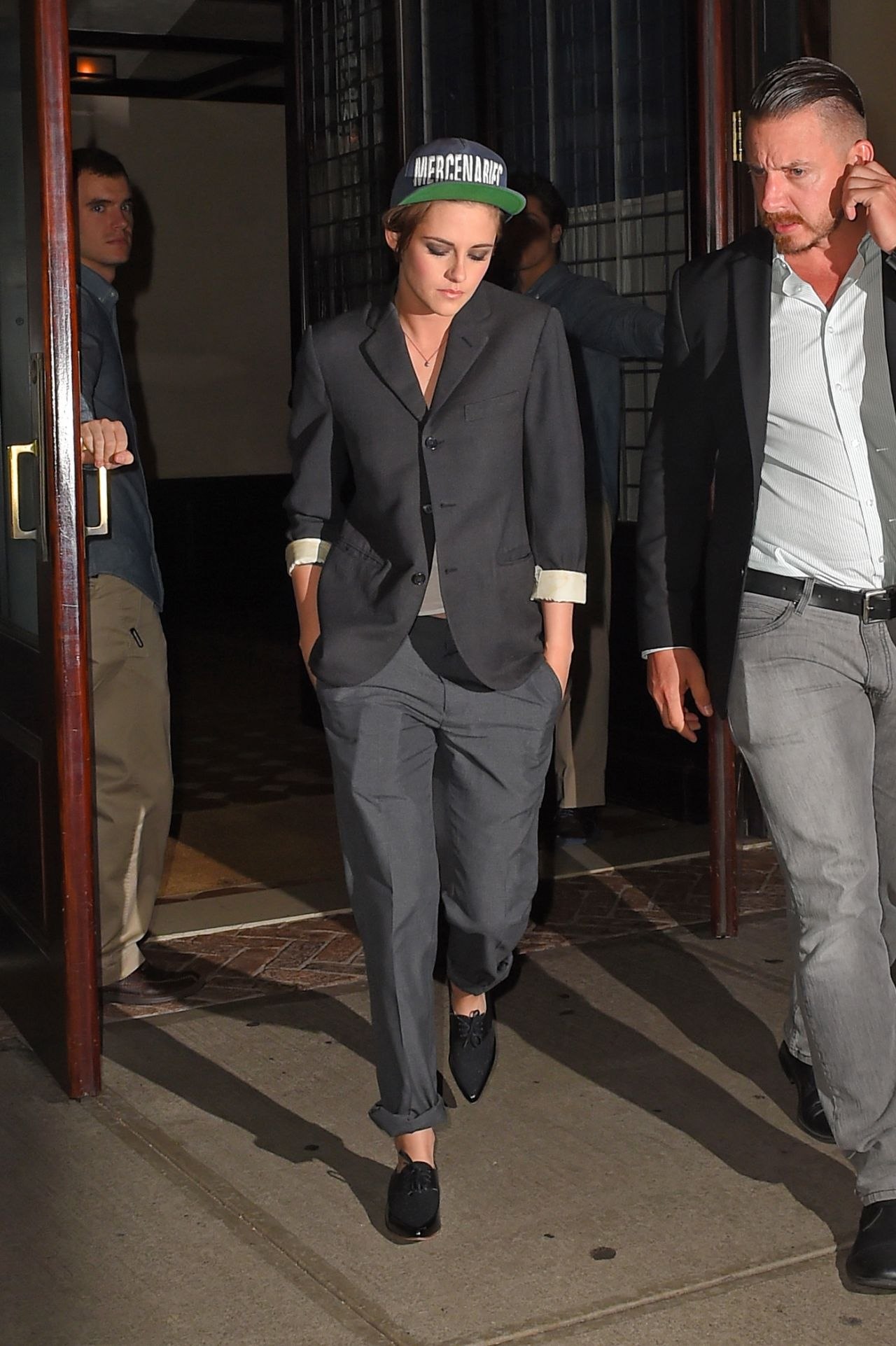 Kristen Stewart Night Out Style New York City October 2014