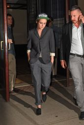 Kristen Stewart Night Out Style - New York City, October 2014