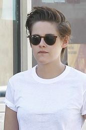 Kristen Stewart Street Style - Out in Los Angeles, October 2014