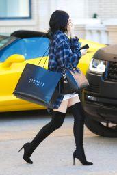 Kylie Jenner Street Style - Leaving Barneys New York in Beverly Hills - October 2014