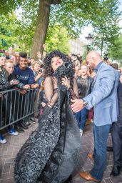 Lady Gaga Style - Leaving Her Hotel in Amsterdam - Sept. 2014