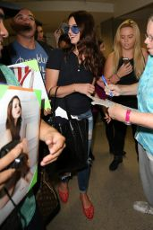 Lana Del Rey at LAX Airport - September 2014