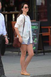 Lana Del Rey Leggy out in SoHo in New York City, September 2014