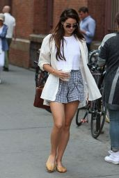 Lana Del Rey Leggy out in SoHo in New York City, September 2014