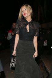Laura Whitmore Arriving at the Pride of Britain Awards 2014