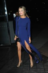 Laura Whitmore night Out Style  - Mondrian Hotel Launch Party in London - October 2014