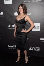 Lauren Cohan - 2014 amfAR LA Inspiration Gala in Hollywood