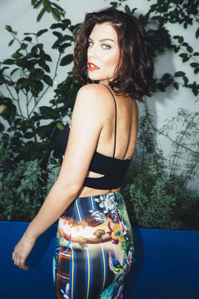 Lauren Cohan Nylon Guys Magazine October November 2014