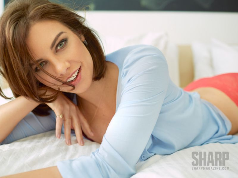 Lauren Cohan - Photoshoot for Sharp Magazine (2014)