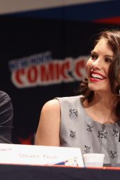 Lauren Cohan - Promoting The
