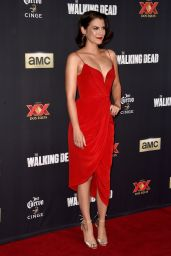 Lauren Cohan – 'The Walking Dead' Season Five Premiere in Universal City