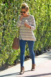 Lauren Conrad in Tight Jeans - Out in Westwood, October 2014