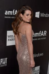 Lea Michele - 2014 amfAR LA Inspiration Gala in Hollywood