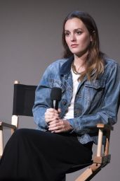 Leighton Meester - Apple Store Soho Presents: Meet The Musician in New York - Oct. 2014