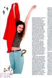 Leighton Meester - Nylon Magazine (US) November 2014 Issue
