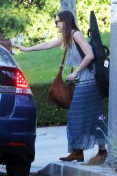 Leighton Meester Style - Out in Los Angeles, October 2014