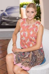 Lena Gercke Photoshoot - Presentation of VW Passat in Sardinia - October 2014