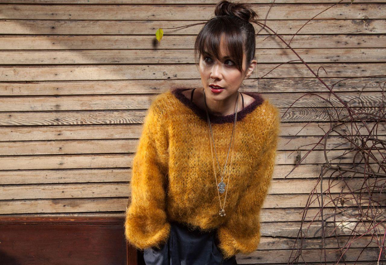 Lexa Doig - The 100 Mile Outfit Photoshoot