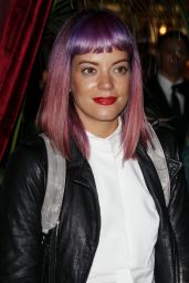 Lily Allen at Charlotte Tilbury