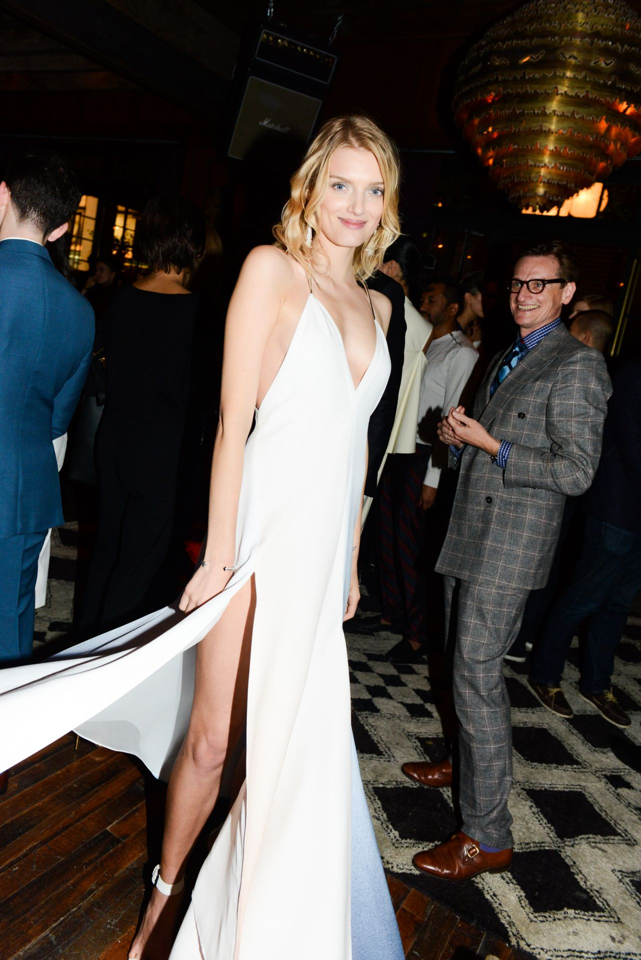 Lily Donaldson – CFDA/Vogue Fashion Fund Design Challenge Cocktail in New York City