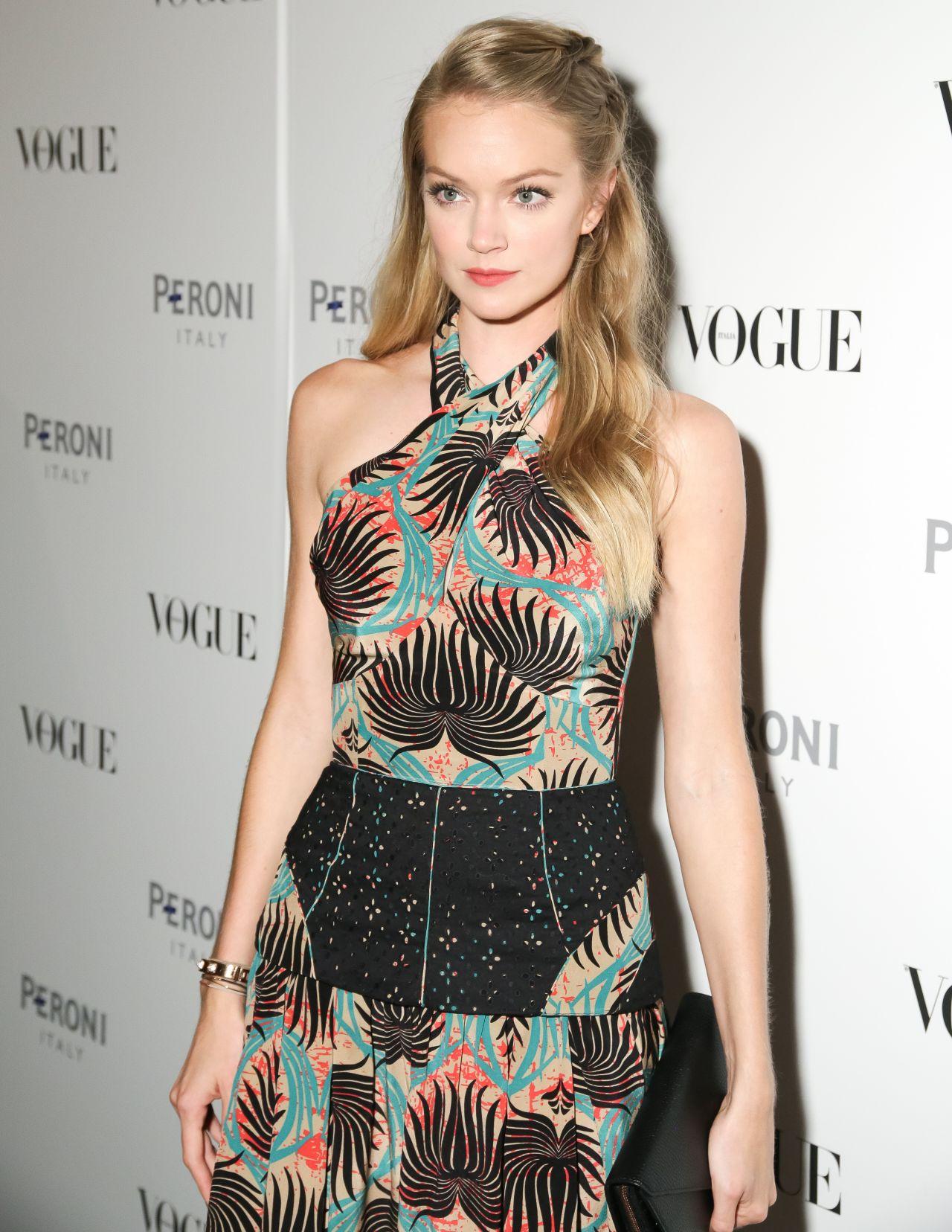 Lindsay Ellingson At The Visionary World Of Vogue Italia Exhibition
