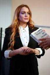 Lindsay Lohan - Photocall for