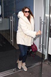 Lisa Snowdon - Leaving Capital FM in London - October 2014