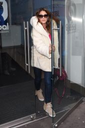 Lisa Snowdon - Leaving Capital FM in London - October 2014