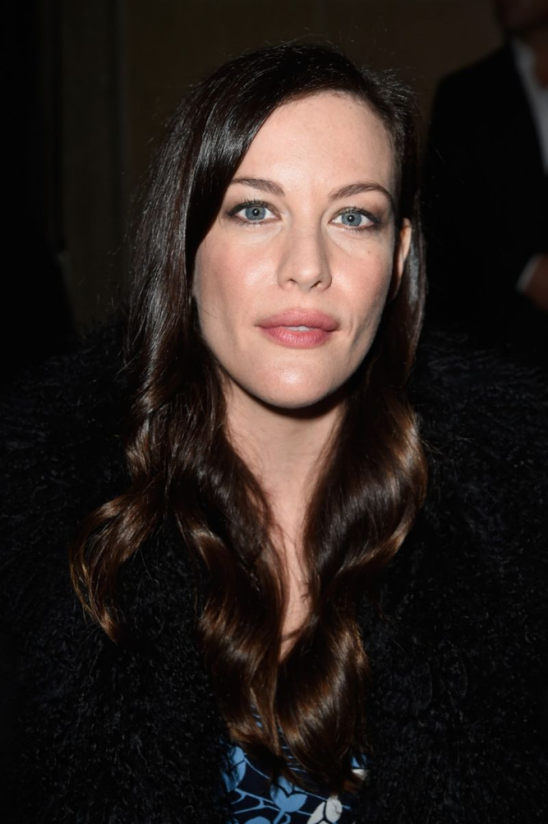 Liv Tyler at Parish Fashion Week - Miu Miu Spring/Summer 2015 Fashion ... Liv Tyler