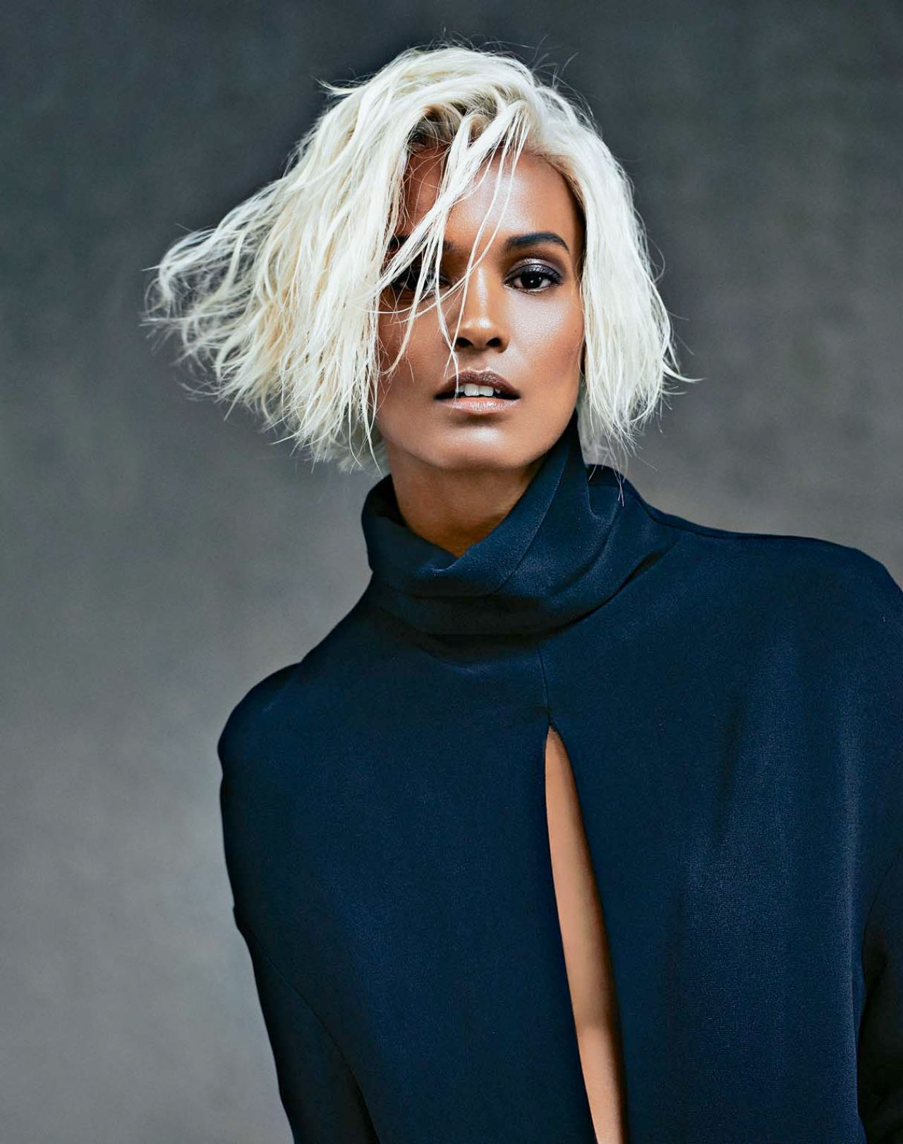 Liya Kebede - Photoshoot for Marie Claire Magazine (France) - October 2014 Issue
