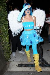 Lucy Hale at Matthew Morrison's Halloween 2014 Party in West Hollywood