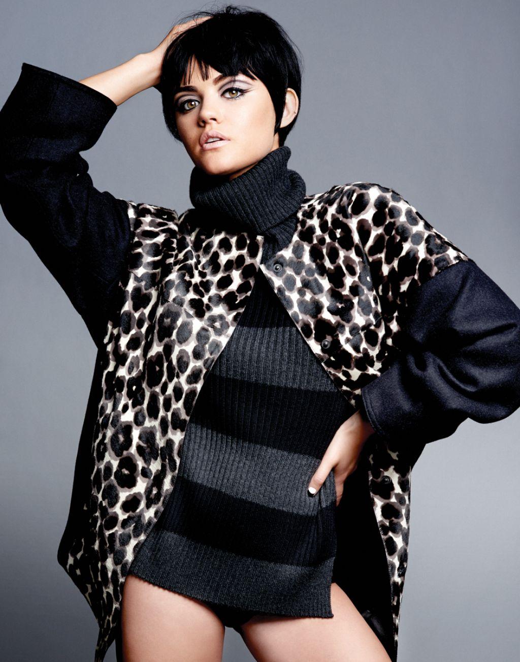 Lucy Hale - Flaunt Magazine November 2014 Issue