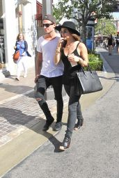 Lucy Hale Street Style - at The Grove in West Hollywood, Oct. 2014