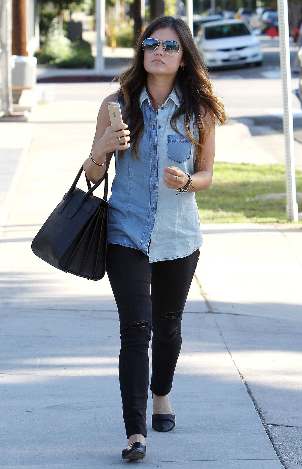 Lucy hale street style 2014