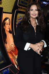 Lynda Carter at Global Gaming Expo (G2E) 2014 in Las Vegas