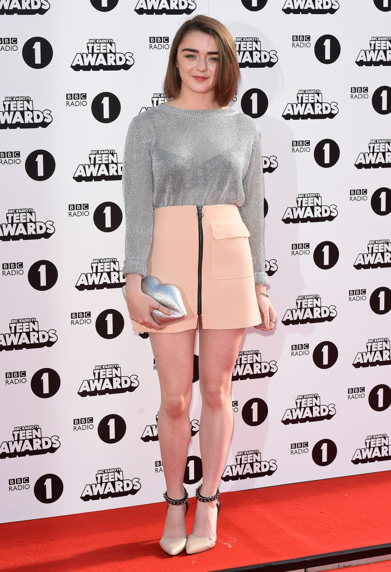 Maisie Williams Radio One Teen Awards 2014 In London