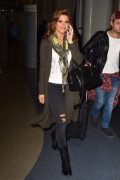 Maria Menounos at LAX Airport in Los Angeles - October 2014