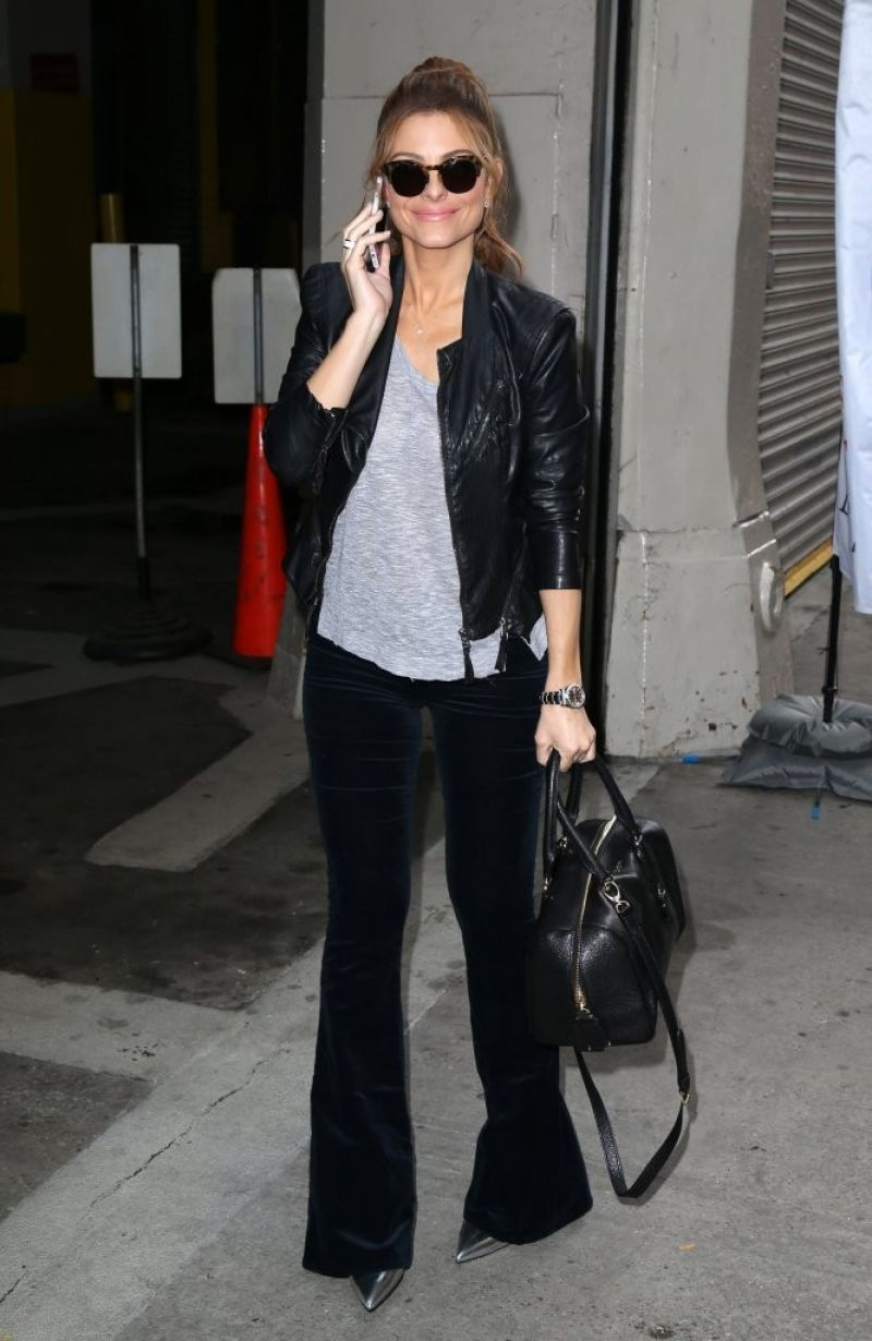 Maria Menounos Style - Out in New York City - October 2014
