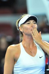 Maria Sharapova - 2014 China Open in Beijing - Final