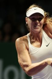 Maria Sharapova – 2014 WTA Finals in Singapore (vs Caroline Wozniacki)