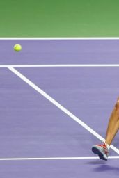Maria Sharapova – 2014 WTA Finals in Singapore (vs Petra Kvitova)