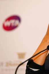 Maria Sharapova - BNP Paribas WTA Finals 2014: Singapore Press conference