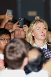 Maria Sharapova - Draw Ceremony for the BNP Paribas WTA Finals 2014