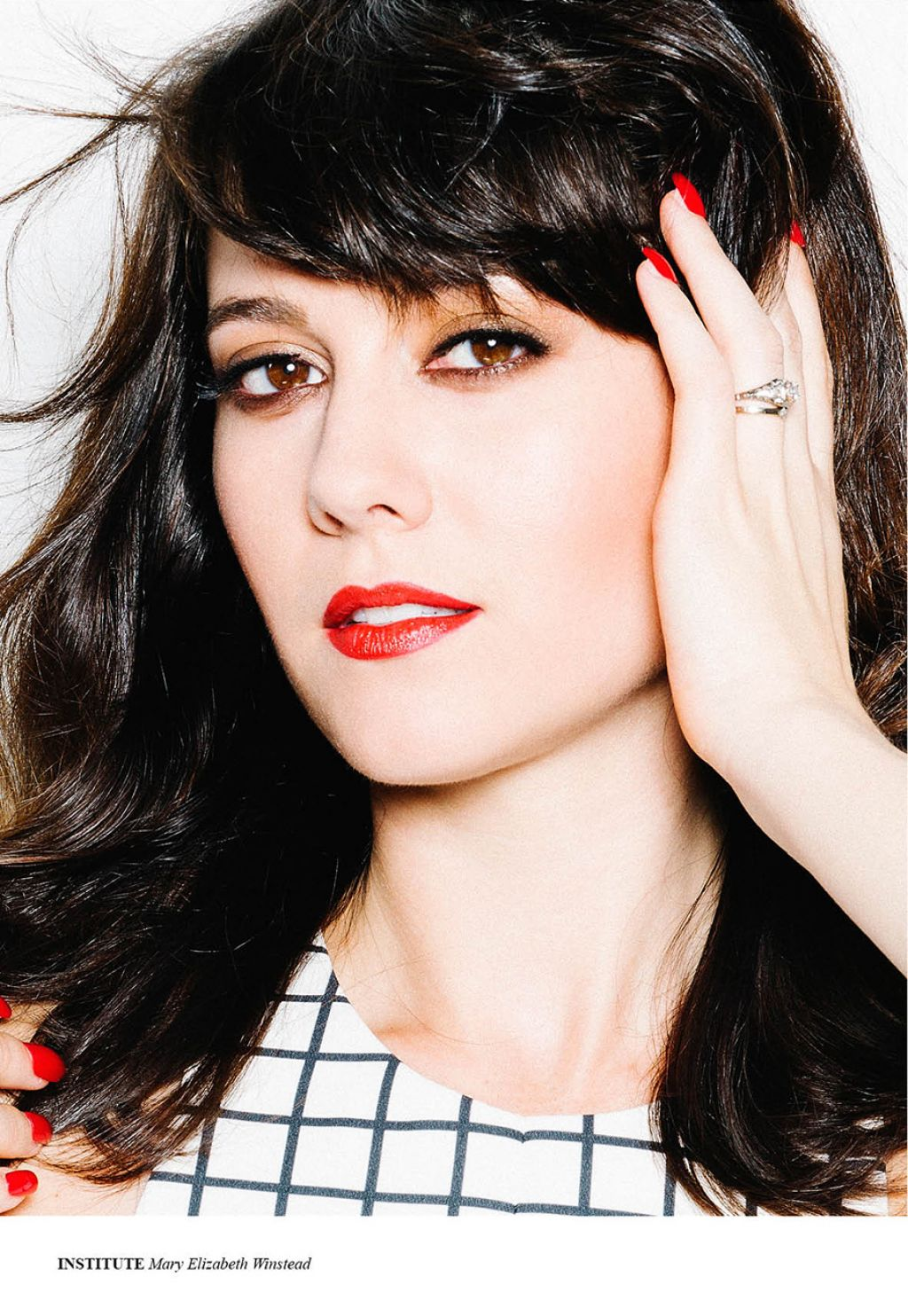 Mary Elizabeth Winstead - Institute Magazine September 2014 Issue