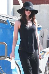 Megan Fox Street Style - Out in Los Angeles, October 2014