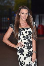 Michelle Heaton - Outside the London Studios - October 2014
